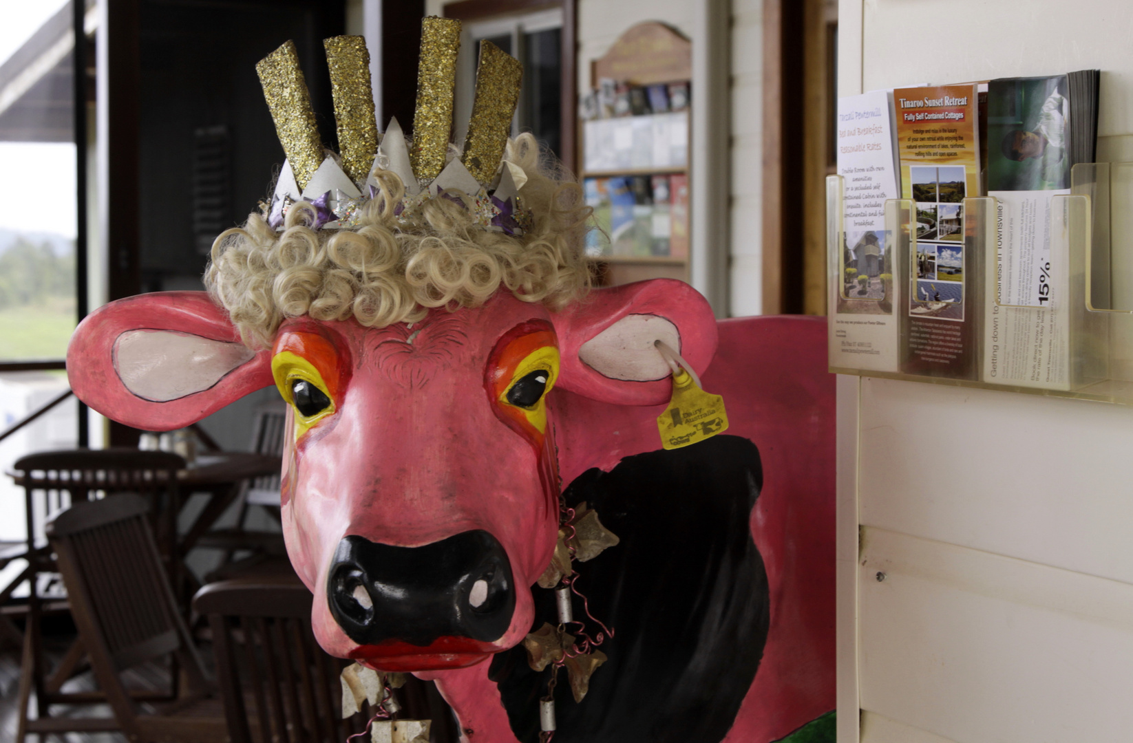 her majesty - the cow