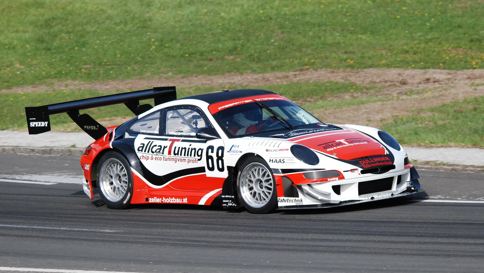 Herbert Pregartner AUT - Porsche 911 GT2 RSR