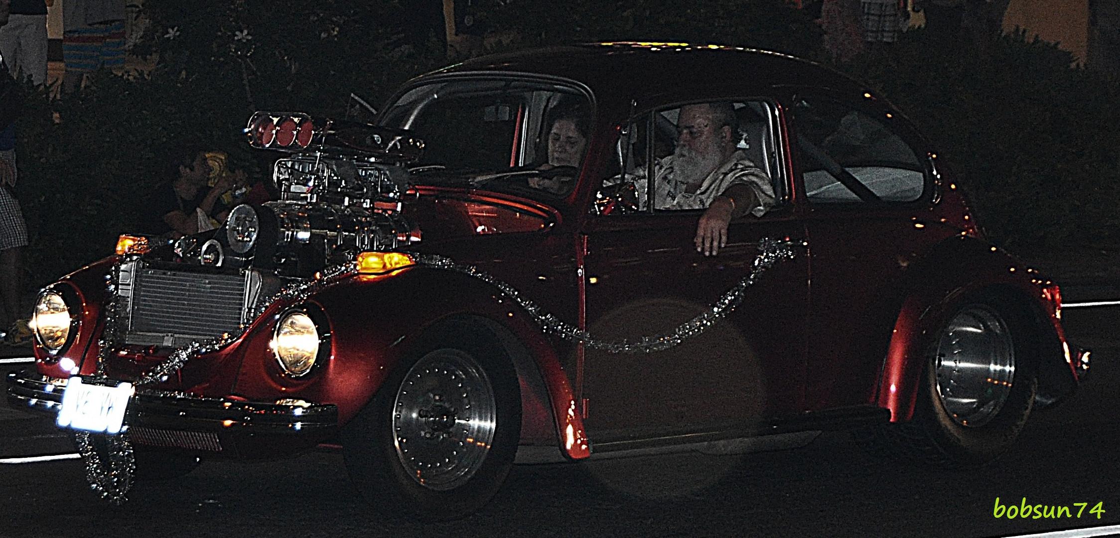 Herbie's böse Schwester in den Strassen von Honolulu