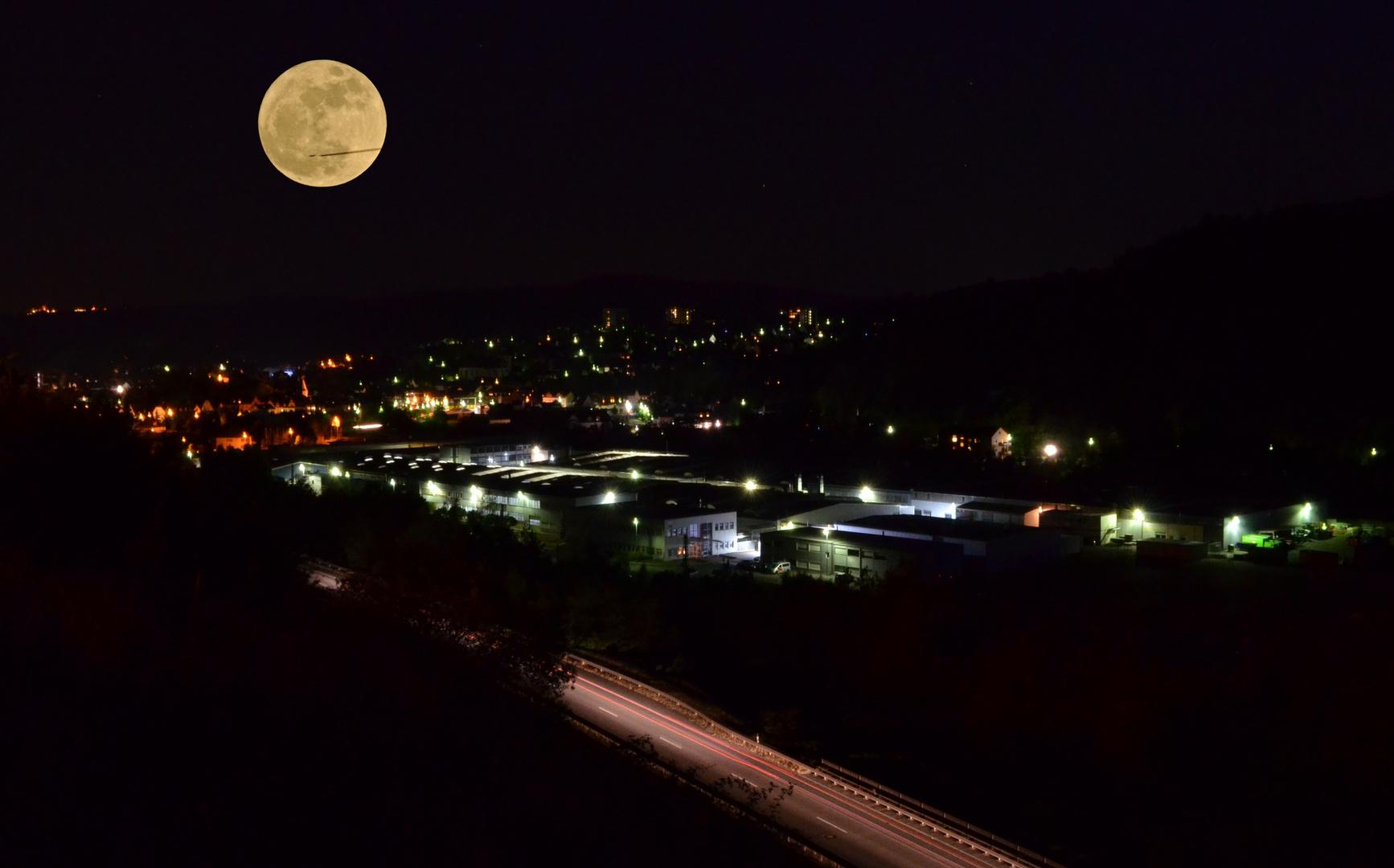 Herborn bei Nacht