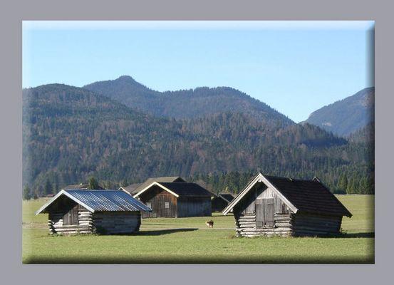 Herbst 2001 bei Garmisch-Partenkirchen.