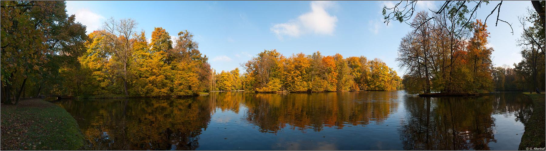 Herbst am Badenburger See