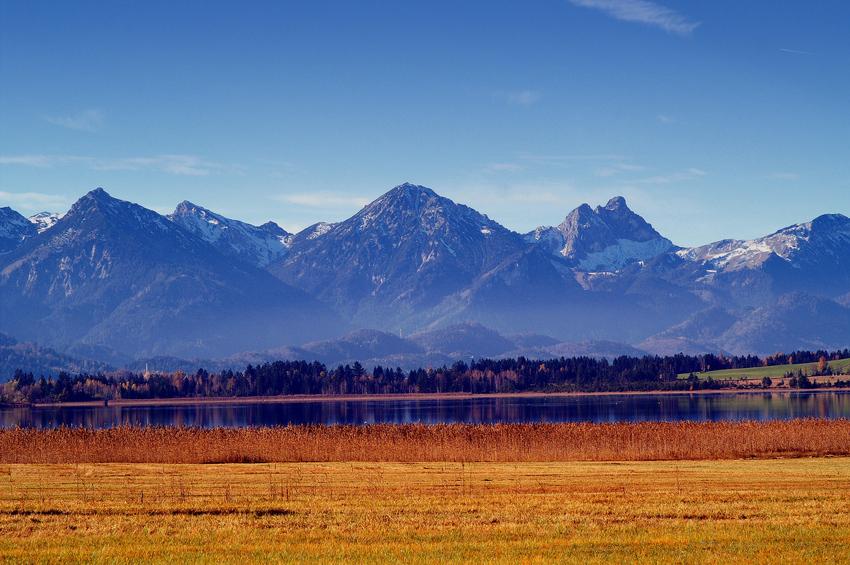 Herbst am Bannwaldsee