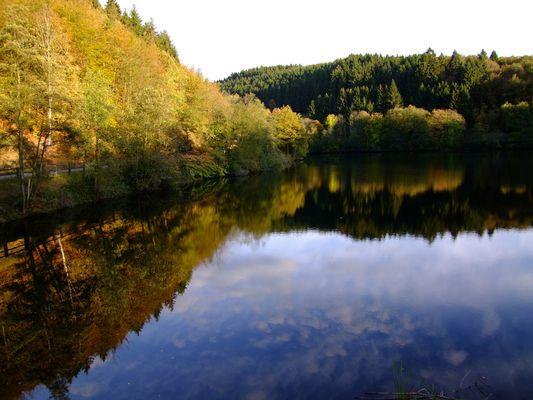 Herbst am Biggesee