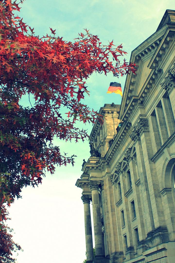 Herbst am Bundestag