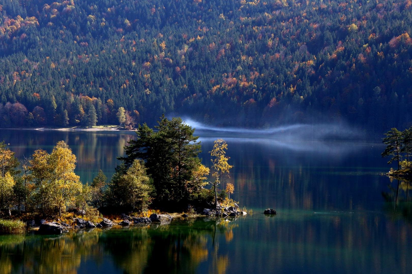 Herbst am Eibsee