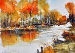 Herbst am Fluß