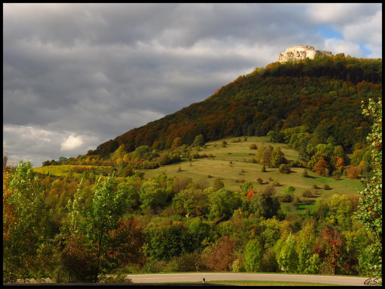 Herbst am Hohen Neuffen