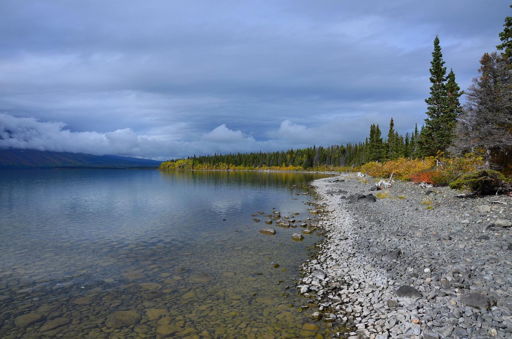 Herbst am Kathleen Lake
