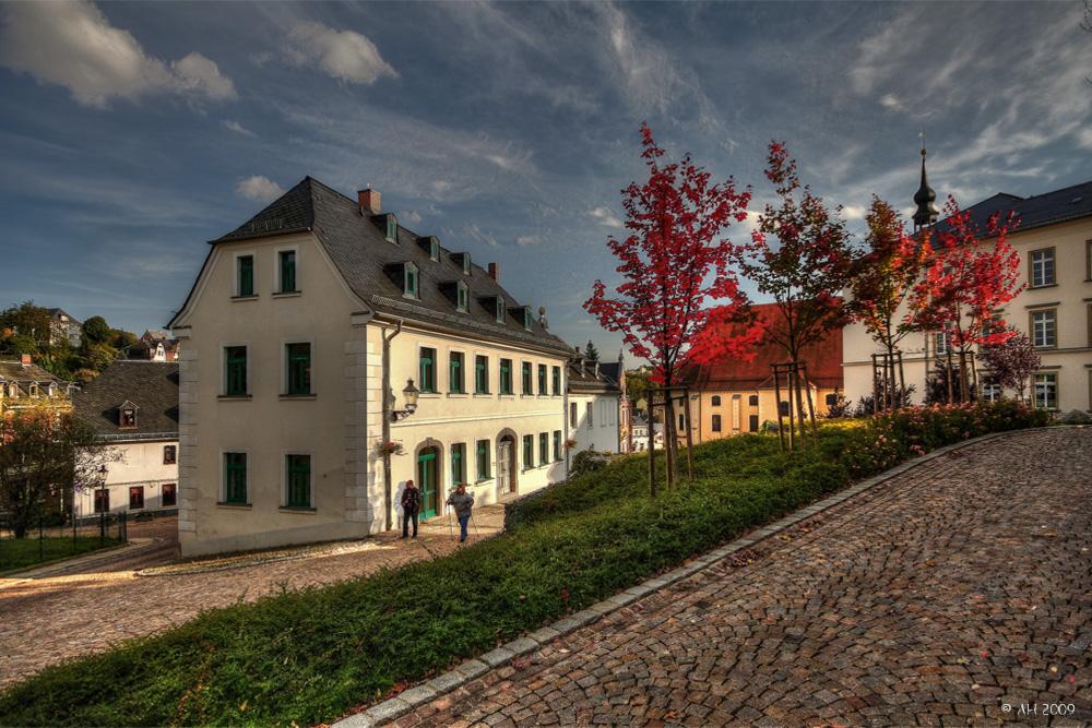 Herbst am Kirchplatz