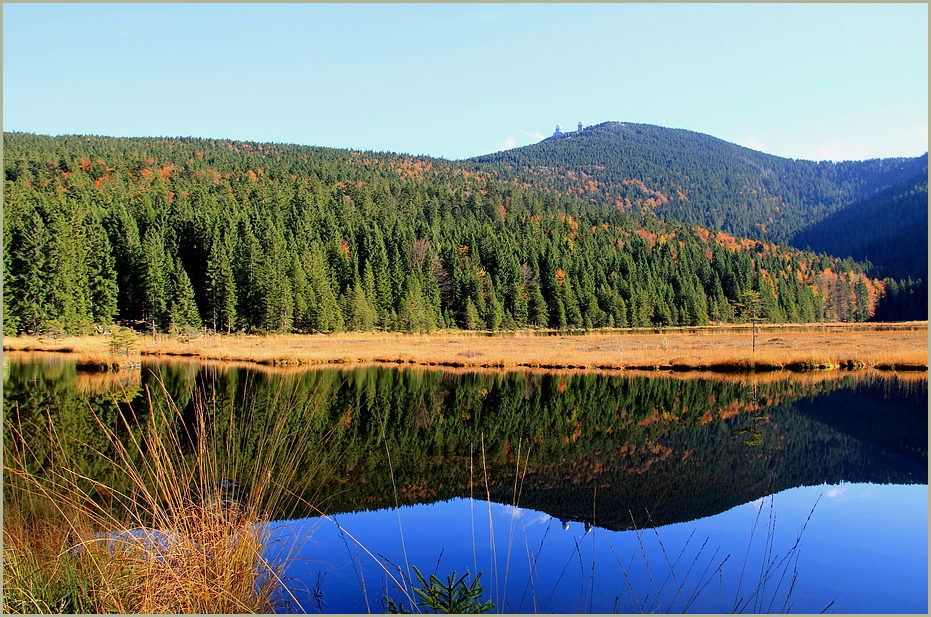 Herbst am Kleinen Arbersee