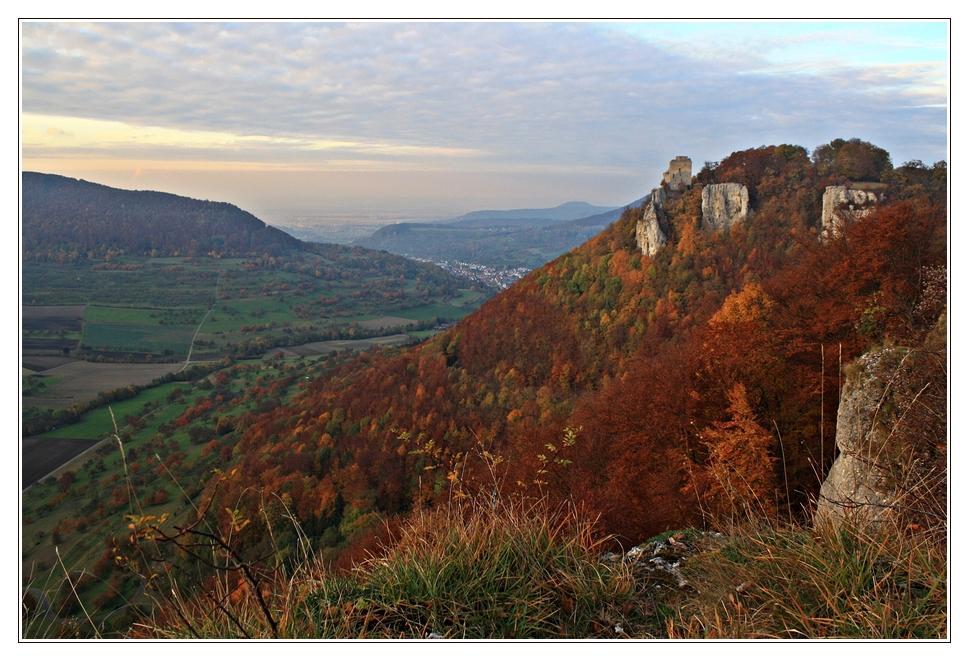 Herbst am Reussenstein