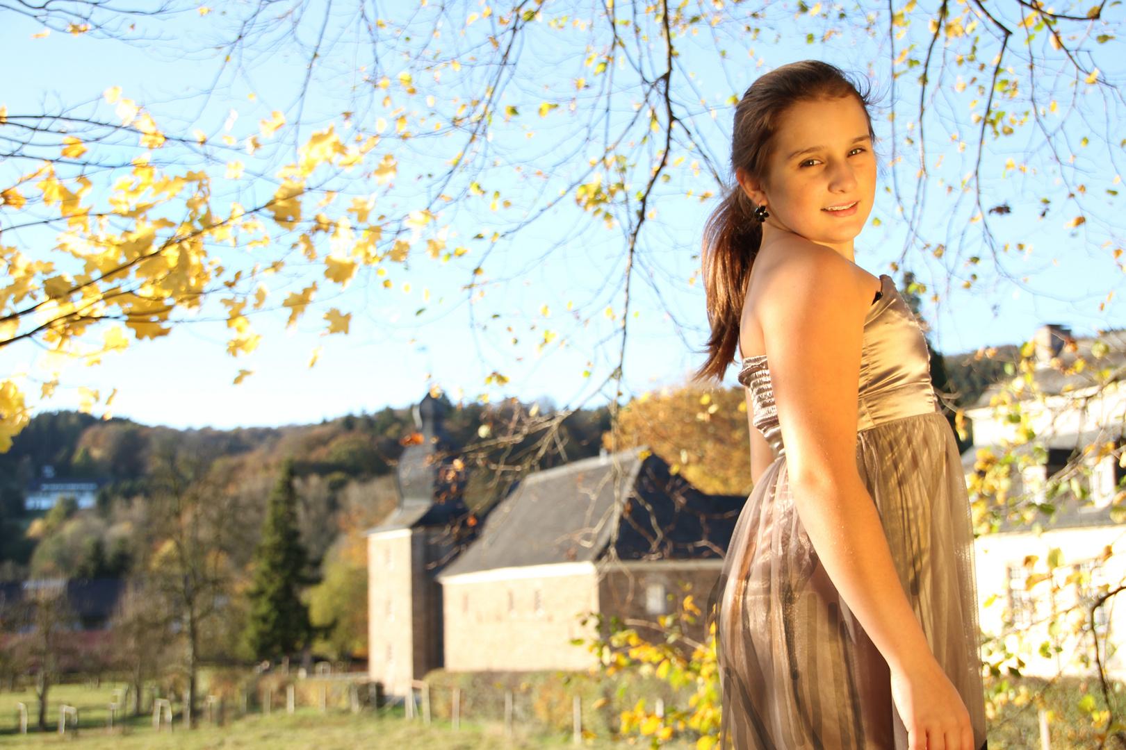 Herbst am Schloss