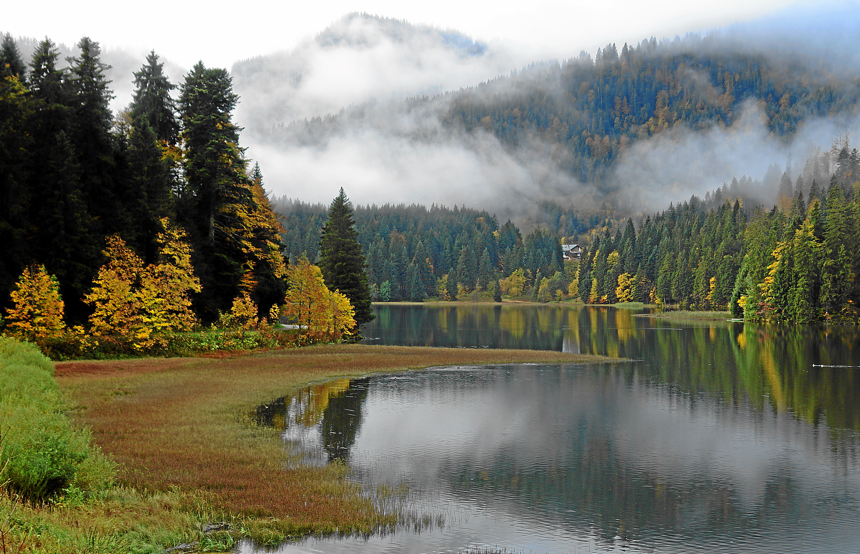 Herbst am Spitzingsee