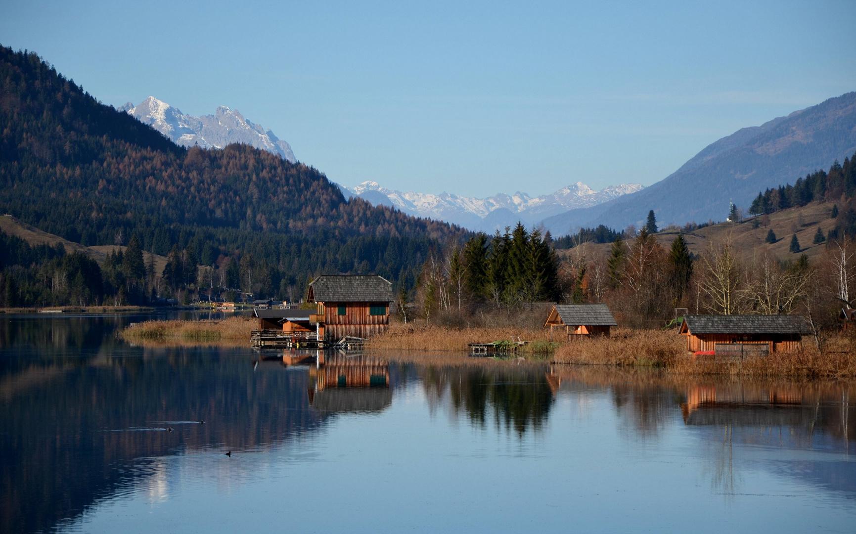 Herbst am Weißensee