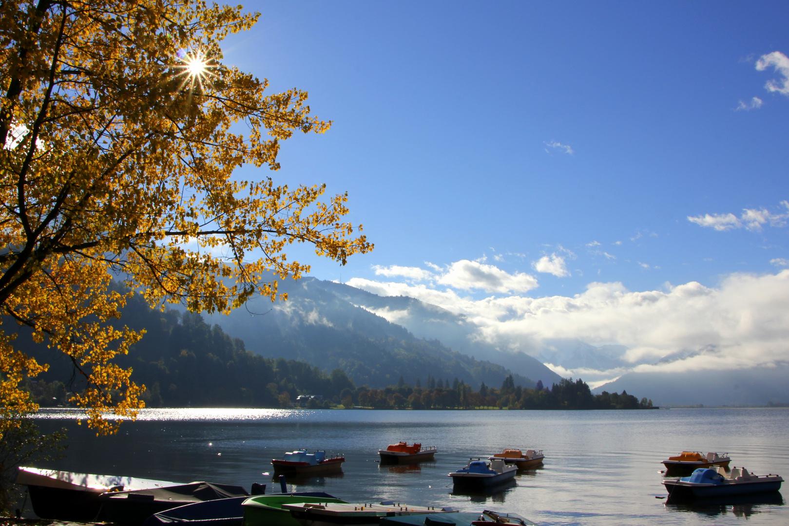 herbst am Zeller See