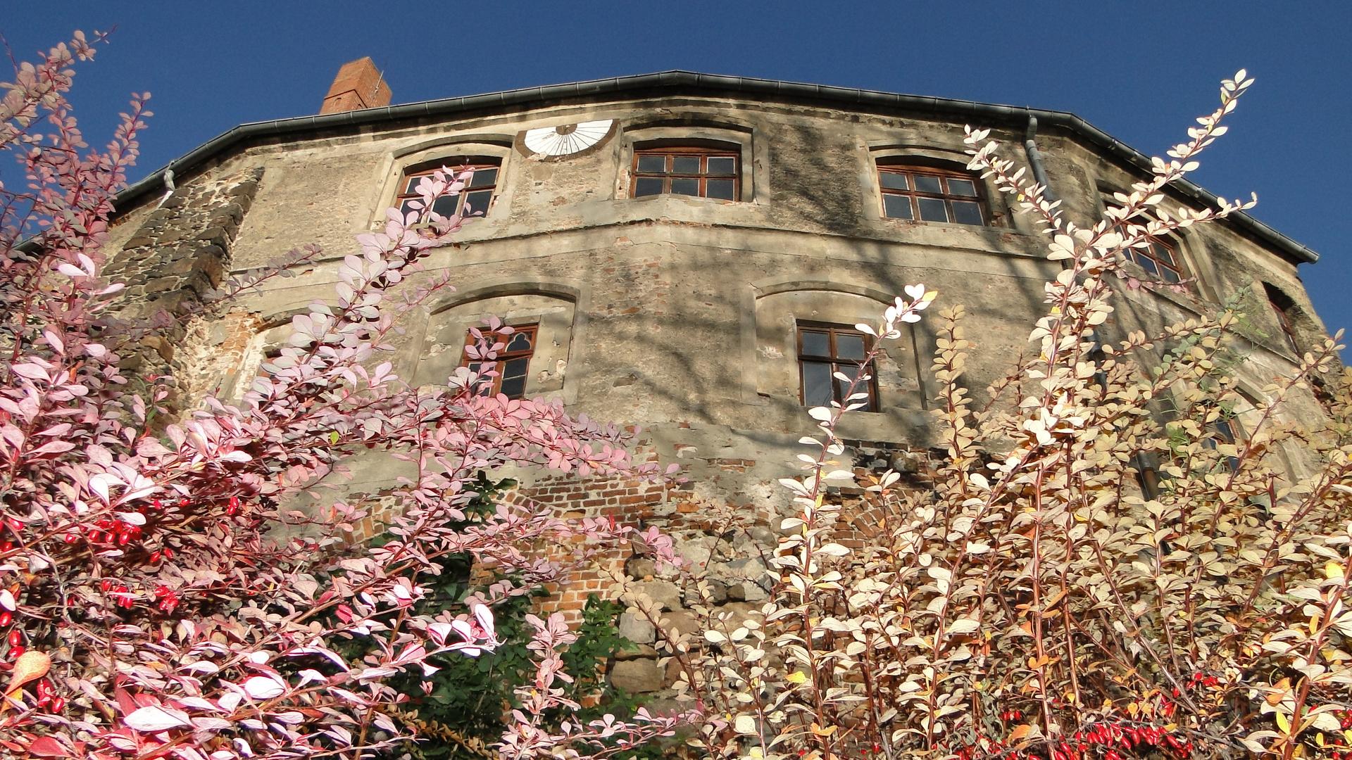 Herbst an der Burg