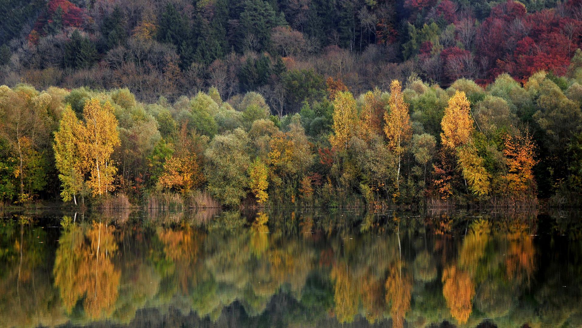 Herbst an der Gretlmühle