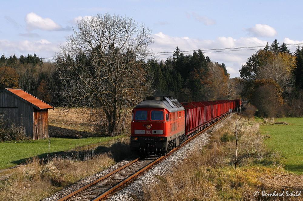 """Herbst an der KBS 945 """"Süd"""" (II)"""