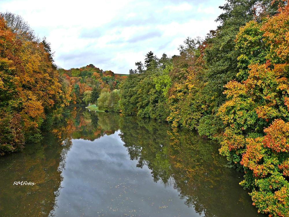 Herbst an der Lahn