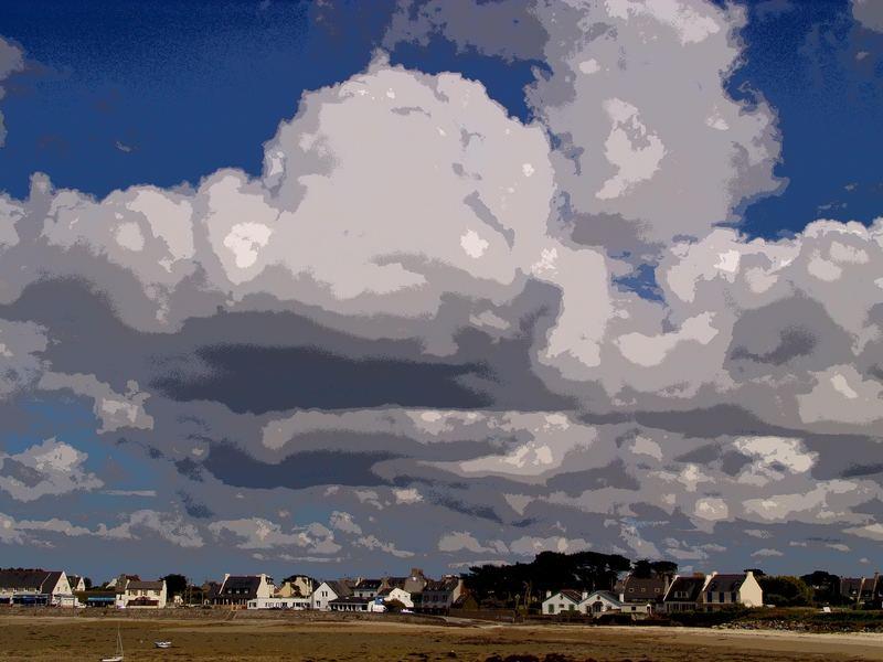 Herbst an der NW-Küste der Bretagne