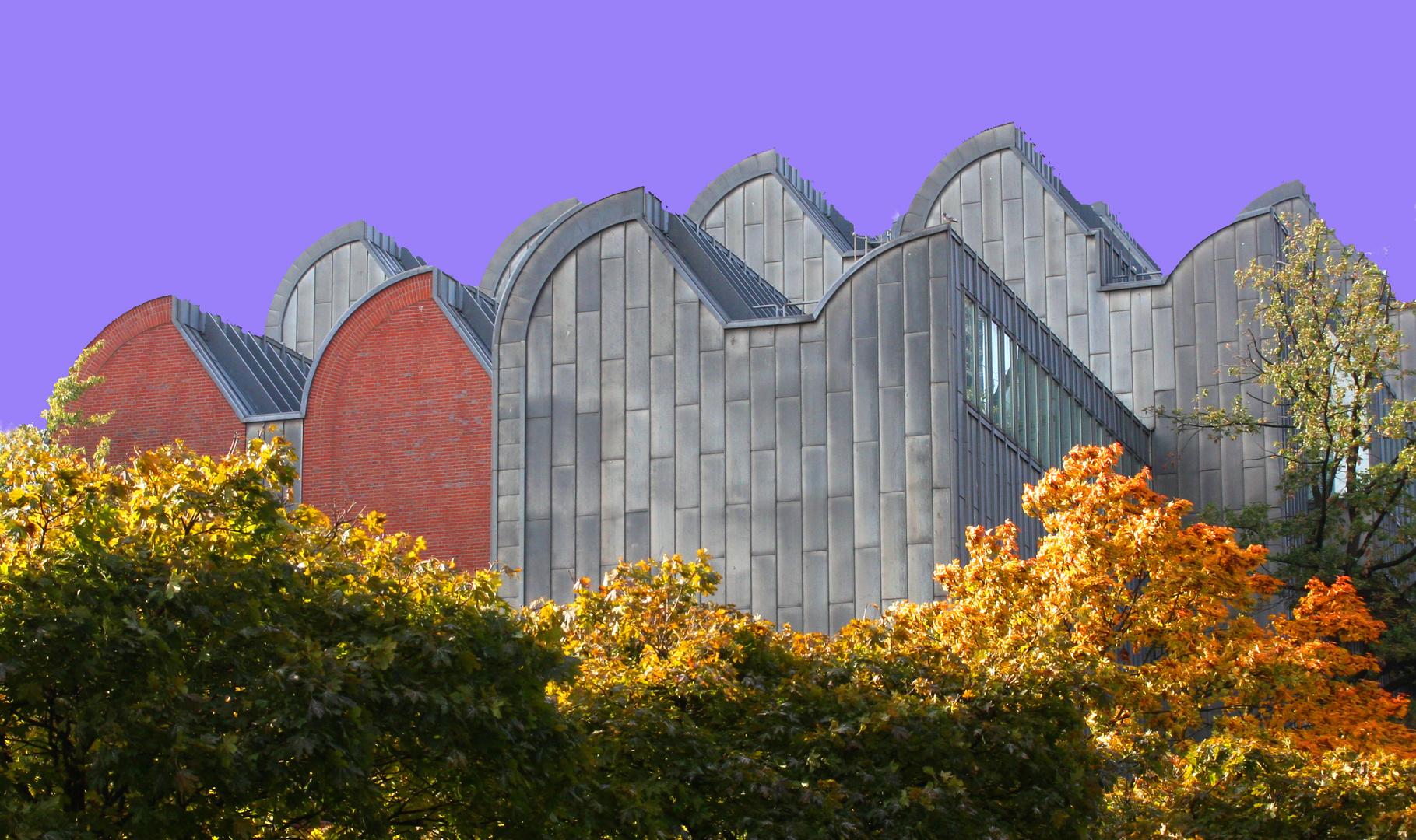 Herbst an der Philharmonie in Köln