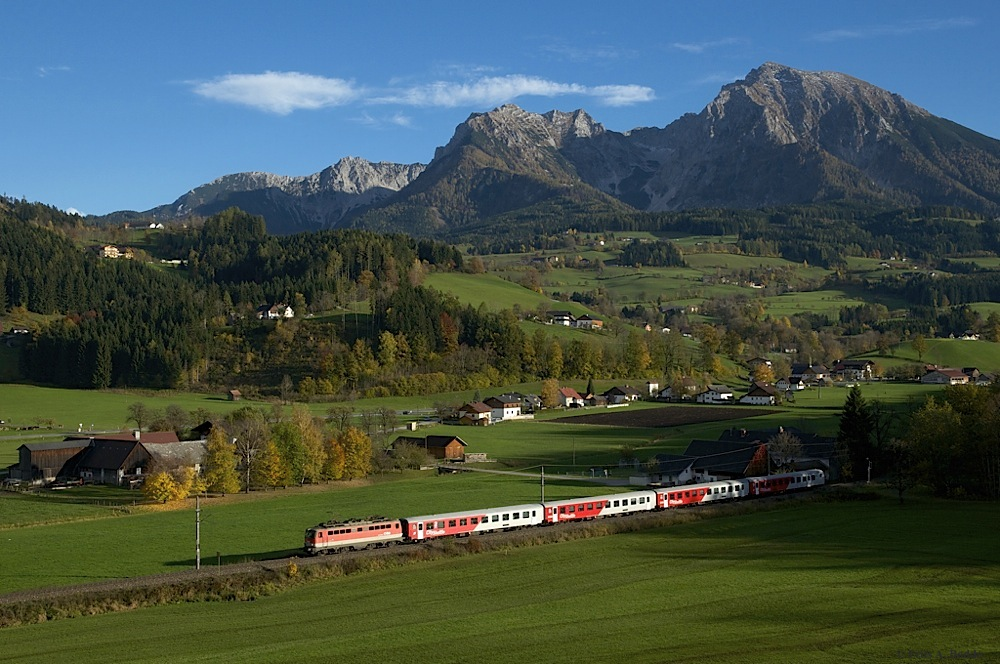 Herbst an der Pyhrnbahn