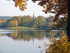 Herbst an der Talsperre Pöhl II