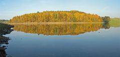 Herbst an der Talsperre Pöhl IV