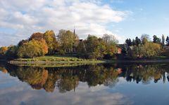 Herbst an der Talsperre Pöhl VII