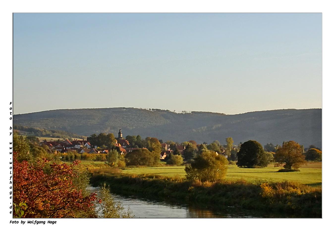 Herbst an der Weser
