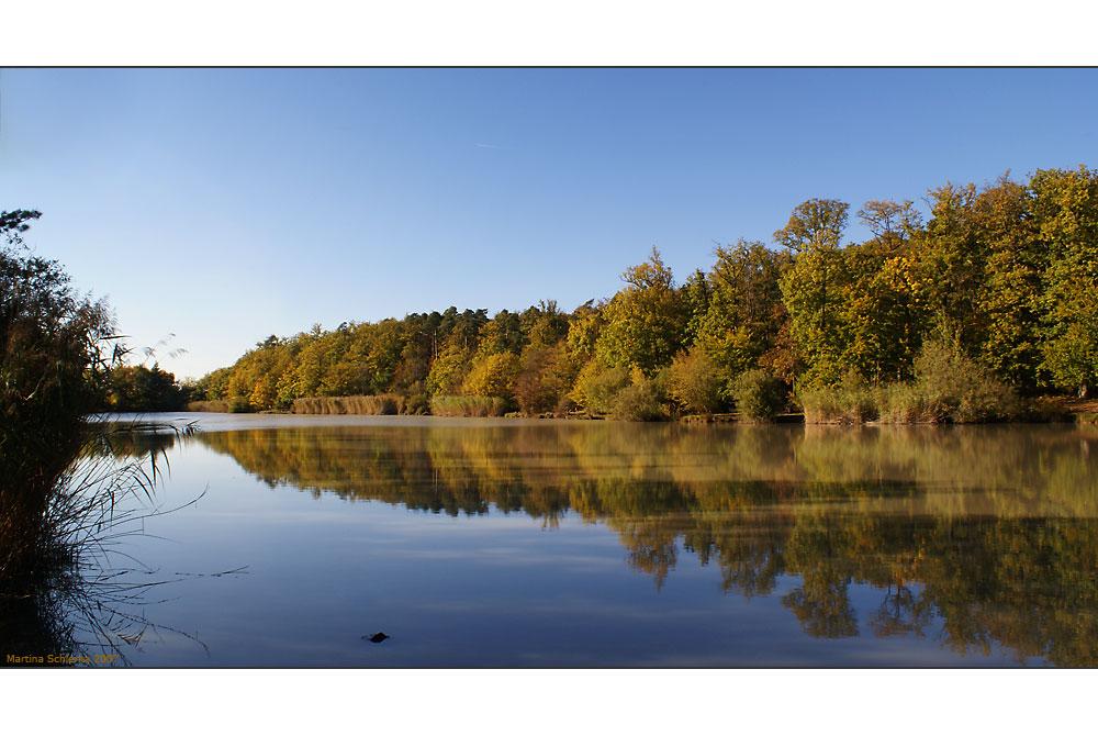 Herbst an unserem Badesee