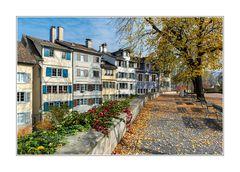 Herbst auf dem Zürcher Lindenhof