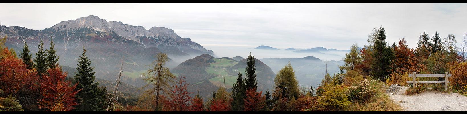 ~ Herbst auf der Kneifelspitze ~