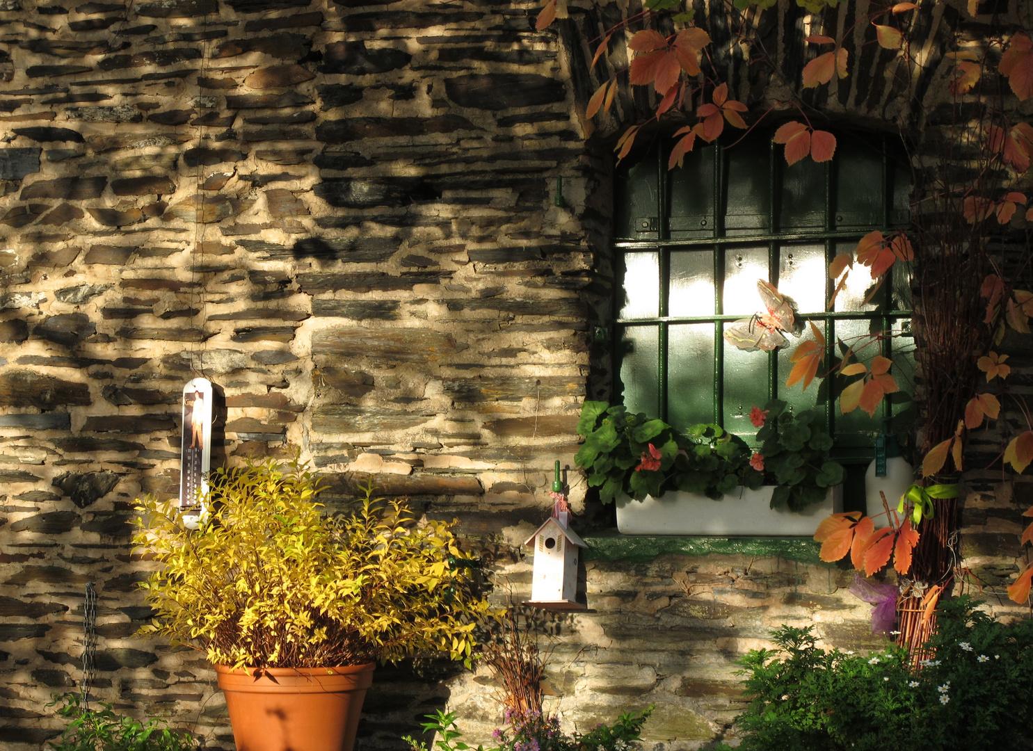 Herbst auf Grevenburg