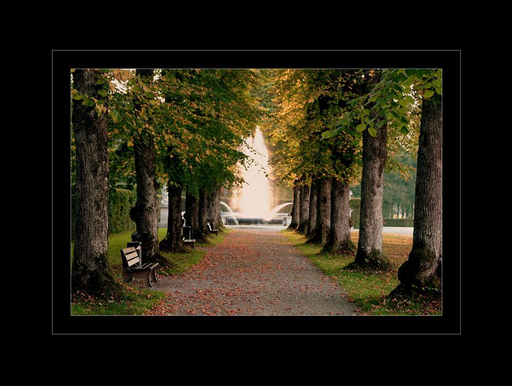 Herbst auf Herrenchiemsee