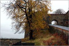 ... Herbst auf Schloss Akershus ...