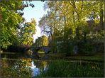 Herbst auf Schloss Landshut