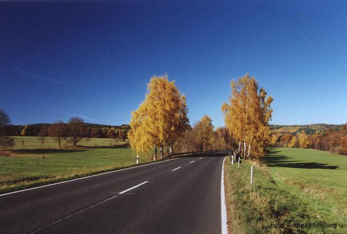 Herbst bei Bad Liebenstein