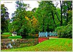 Herbst bei Pückler im Branitzer Park ..