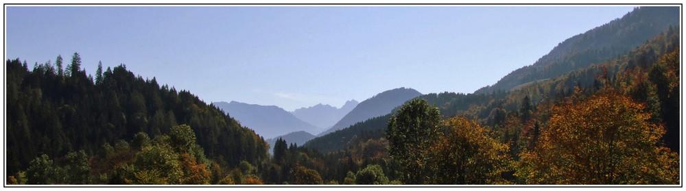 "Herbst beim ""Feurigen Tatzlwurm"" bei Oberaudorf"