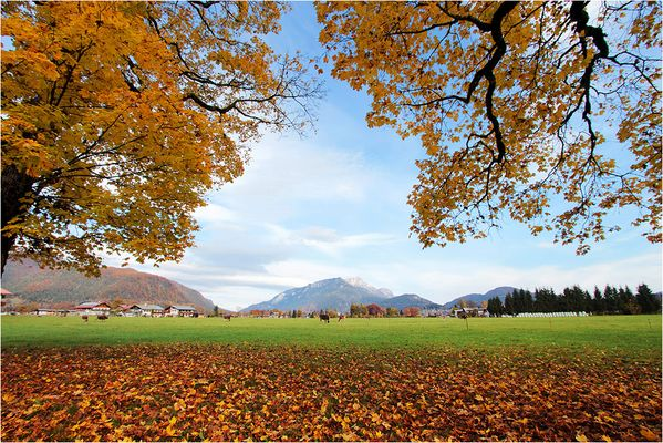 ~ Herbst im Berchtesgadener Land ~