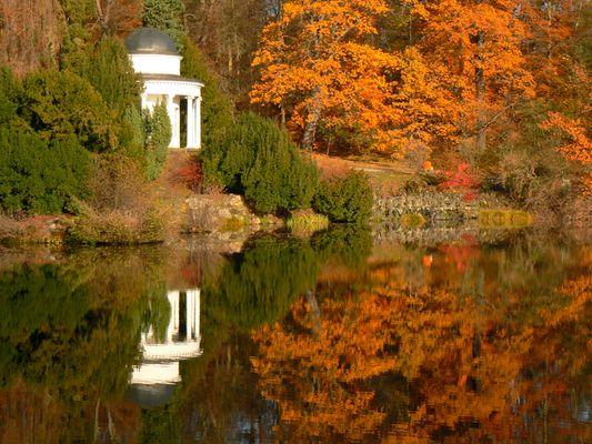 Herbst im Bergpark Kassel Wilhelmshöhe