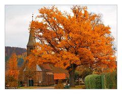 Herbst im Dorf