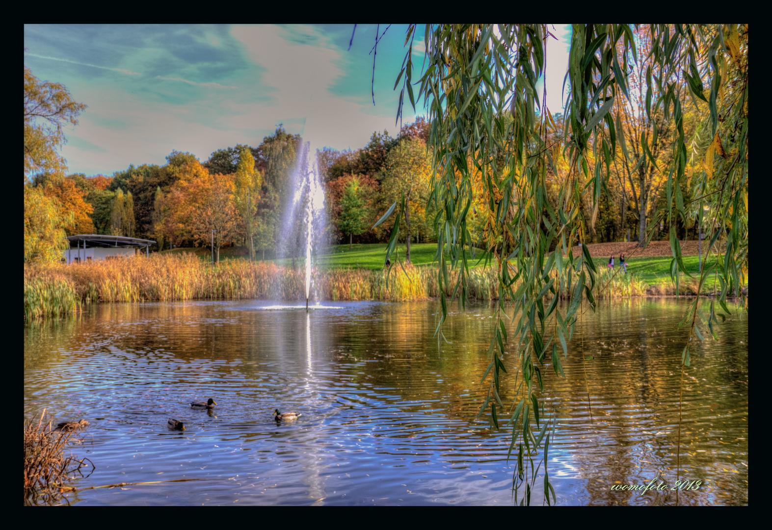 Herbst im Heinz Lang Park