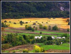 Herbst im Hinterland von Kroatien