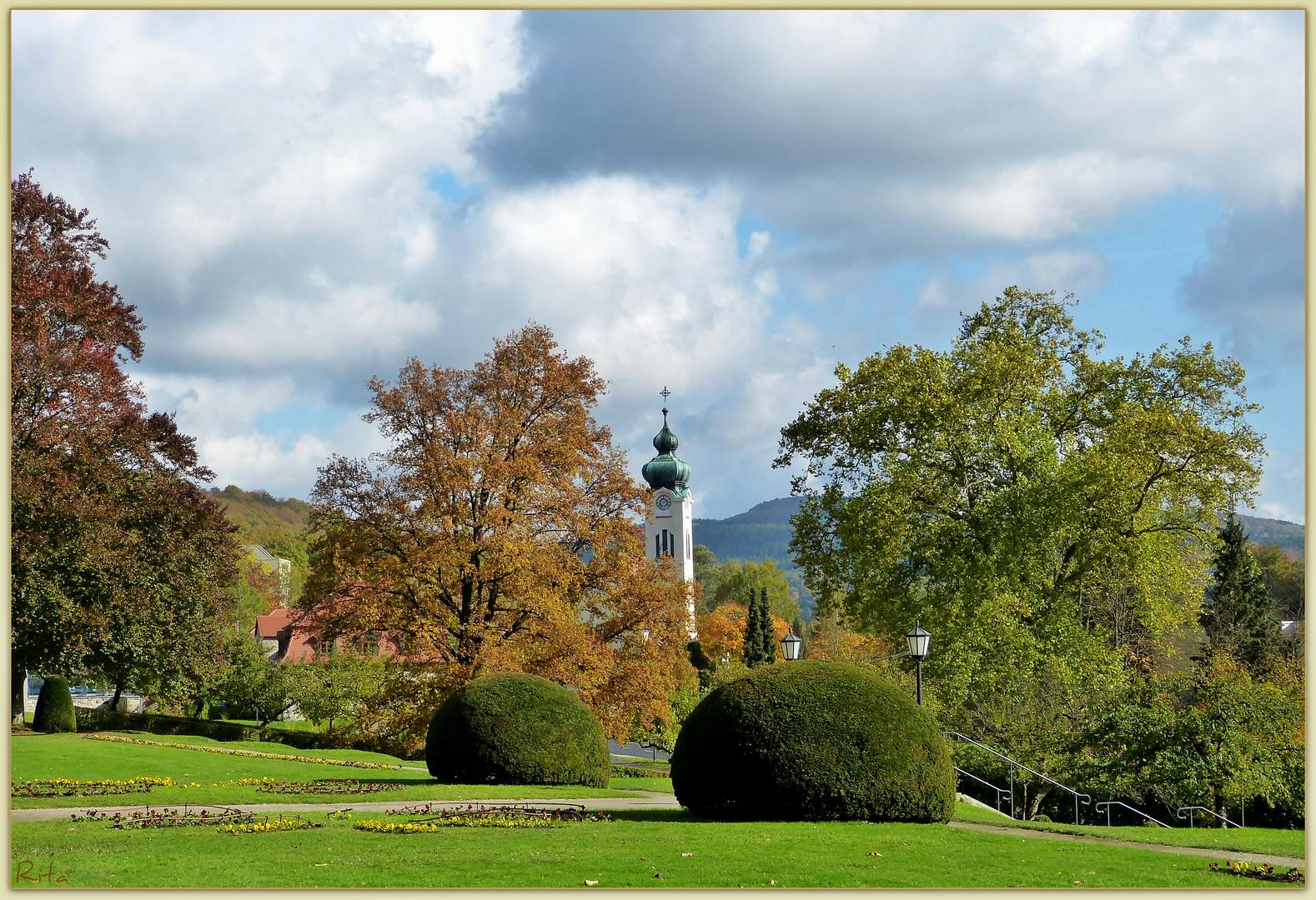 Herbst im Kurpark (3)...