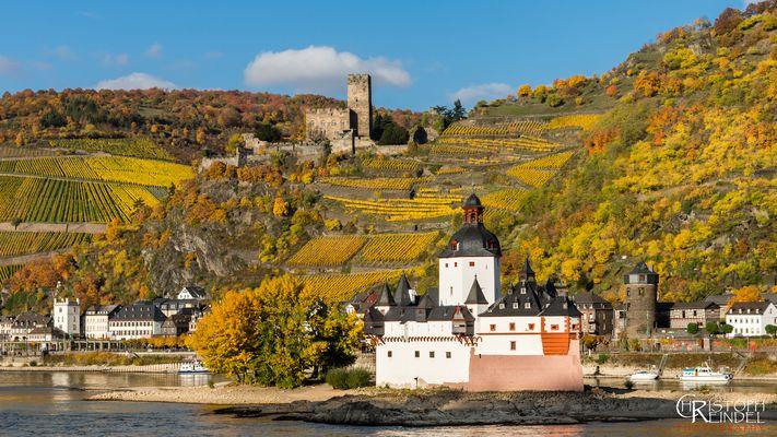 Herbst im Mittelrheintal