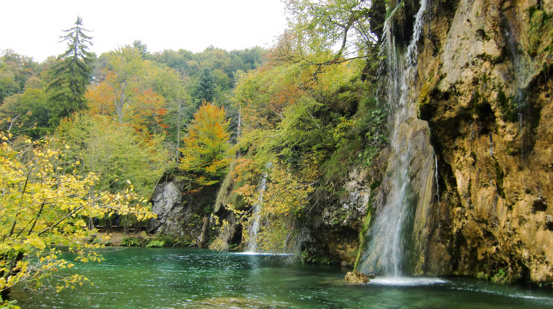 Herbst im Nationalpark Plitvicka Jezera