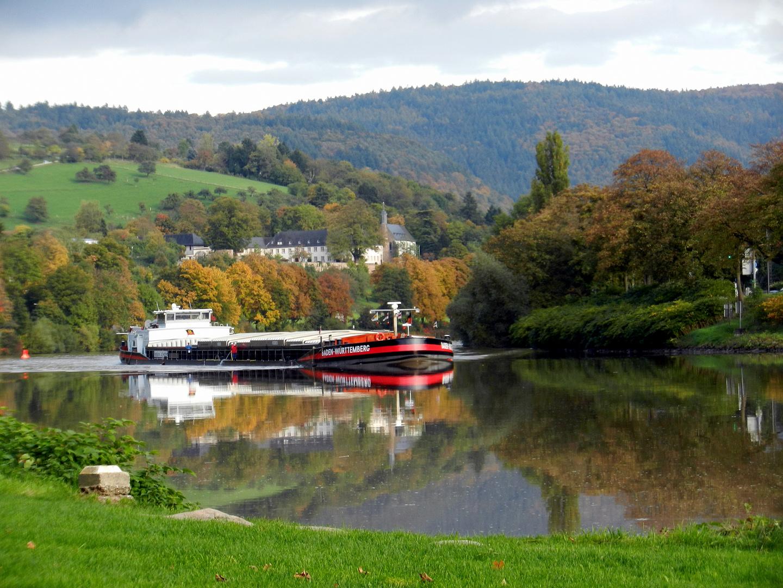 Herbst im Neckartal